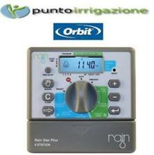 Programmatore centralina irrigazione RAIN STAR PLUS by Orbit 6 stazioni  24v