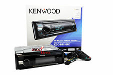 Kenwood KDC-BT958HD Single-Din Bluetooth Stereo w/ HD Radio & SiriusXM Ready