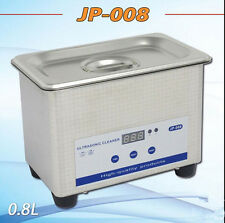 Professional Digital Ultrasonic Cleaner Machine with Timer Heated Cleaning 0.8L