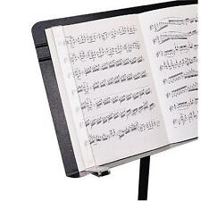 Manhasset Music Stand Musiclip Clear Plastic