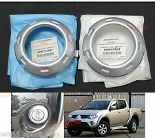 FIT FOG LAMP COVER TRIM MITSUBISHI L200 TRITON ML PLUS 2008 09 10 GENUINE PART