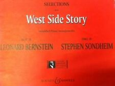 Selections from West Side Story Simplified Piano Easy Grade 1-2 Sheet Music S59
