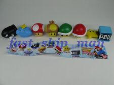 8Q Super Mario Kart Wii Magnet 8 figure Capsule toy Q