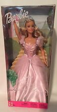 Mattel Barbie Princess Blonde 2002 NRFB Princesa Princesse Pink Dress