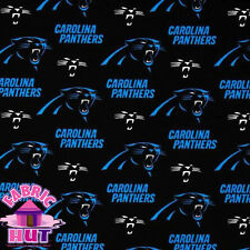 140226111- Carolina Panthers NFL 100% Cotton Fabric 6401 D Football By The Yard