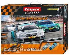 Carrera GO!!! DTM Speedway 1/43 analog slot car race set 62390