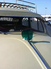 VW BUG BEETLE HOOD DEFLECTOR IN GREEN 1950'S 1960'S STYLE