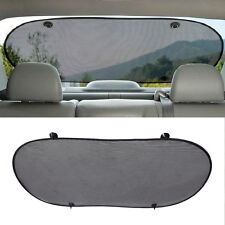 Auto Car Front Rear Window Sun Shade Visor Windshield Cover UV Block + 4x Chuck