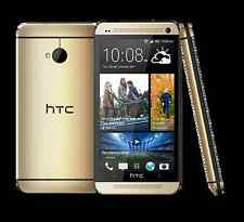 HTC One (M7) Unlocked Quad-Core Smart Phone - 32GB 4.0MP - Gold New