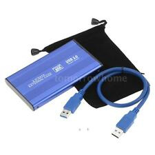 "Durable USB 3.0 HDD Hard Drive External Enclosure 2.5"" SATA HDD Case Box U0Y3"