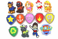 14pcs (Paw Puppy) Patrol Power Shoe Charms for Croc Shoes & Wristband Bracelet