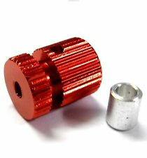 RC Receiver Alloy Antenna Pipe Column Stand Mount Red x 1