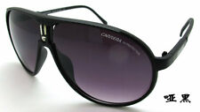 Men & Women's Retro Sunglasses Unisex Matte Frame Carrera Glasses Matte black