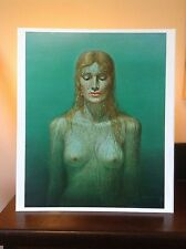 ORIGINAL RARE Tretchikoff Birth Of Venus 1960s - Vintage Kitsch Art Print