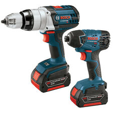 Brand New - Bosch 2-Tool 18-Volt Lithium Ion Cordless Combo Kit CLPK221-181