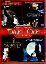 The 4-Movie Thrills & Chills Collection Vol 1 (DVD 2013) Frankenstein Dracula, R