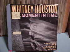 1987/88 WHITNEY HOUSTON 45 RPM AND THE PICTURE SLEEVE ONE MOMENT IN TIME ARISTA