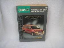 CHRYSLER CARAVAN / VOYAGER / TOWN & COUNTRY REPAIR MANUAL - 1984 -1995 CHILTON'S