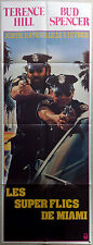 1985 MIAMI SUPERCOPS Corbucci Terence Hill Bud Spencer French door movie poster