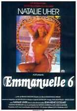 Emmanuelle 6 Poster 01 Metal Sign A4 12x8 Aluminium