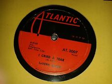 LAVERNE BAKER : I CRIED A TEAR / DIX-A-BILLY.  Canada.78rpm (1958)