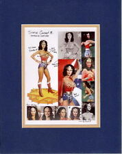 The FACES Of LYNDA CARTER - WONDER WOMAN COLLAGE PRINT PROFESSIONALLY MATTED