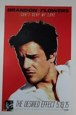 "Brandon Flowers - The Desired Effect Promo Poster 11"" x 17"" Rare Limited"