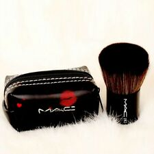 mac. Kabuki Blending Brush #182 with black Pouch