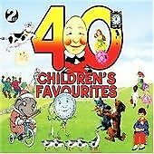 40 CHILDRENS FAVOURITES - THE BEST OF - FOR TODDLERS BABY CD BRAND NEW