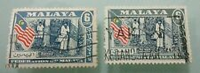 Willie: Malaya Stamps 6 cent 2pcs