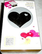 EK Success Tools LARGE Craft Paper Punch HEART IN HEART
