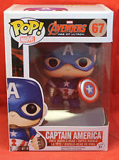 Marvel Pop! Vinyl Figure Avengers Age Ultron - 67 Captain America 2015 Funko
