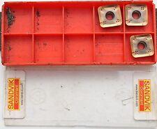 3 Wendeschneidplatten Wendeplatten Sandvik 490R-140420M-PM, 1030, 25854646