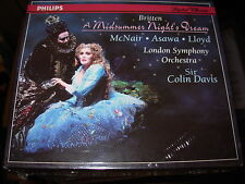 DAVIS / MCNAIR / BRITTEN a midsummer night's dream- 2 cd box set - SEALED / NEW
