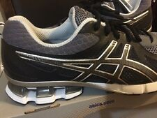 NEW ASICS GEL-FIERCE Mens Running Shoes Sneaker Black/Onix SZ 8 R.$110