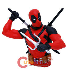 Marvel Deadpool Bust Figure Coin Bank 3D Action Figure