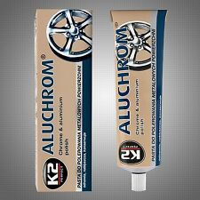 CAR BIKE POLISH CHROME METAL ALUMINIUM WHEEL CLEAR PASTE RESTORES CARE PROTECT I