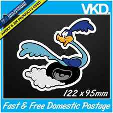 Road Runner Sticker/ Decal - Meep Beep Bomb Wile E Coyote Drift JDM 4x4 Sparkle