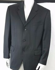 Men's Jones New York Black Suit Coat Jacket Blazer 42R 3 Button 42 R Business
