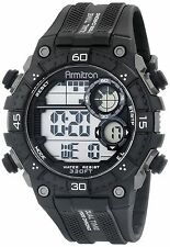 Armitron Men's Black Resin Watch, 100 Meter WR, Chronograph, 40/8331BLK