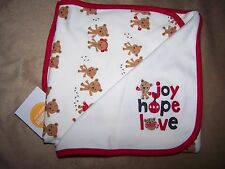 Gymboree NWT Brand New Baby Uni Sex Teddy Bear Blanket