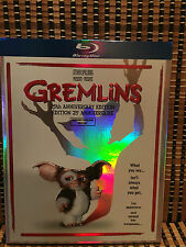 Gremlins (Blu-ray, 25th Anniversary Edition)+Rare Embossed Slipcover.Spielberg