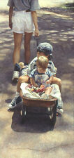 """""""Traveling at the Speed of Life"""" Steve Hanks Limited Edition Fine Art Print"""