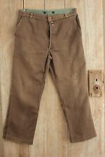 Work wear clothes pants Trousers Antique French chore wear BEST c1910