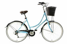 "CLASSIQUE TRADITIONAL HERITAGE LADIES DUTCH LIFESTYLE BIKE+BASKET 19"" 1F2802"