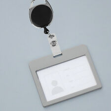 Retractable Reel Pull Key ID Card Badge Tag Clip Holder Carabiner Style DG