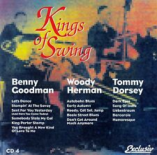 KINGS OF SWING 4 : BENNY GOODMAN, WOODY HERMAN, TOMMY DORSEY / CD - NEUWERTIG