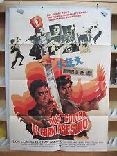 A566       DOS CONTRA EL GRAN ASESINO, CHIN HAN, WANG PING  artes marciales