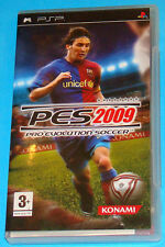 Pes 2009 - Pro Evolution Soccer - Sony PSP - PAL