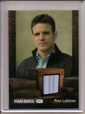 Warehouse 13 Season 4 Eddie McClintock (Pete) Costume Card 338/350